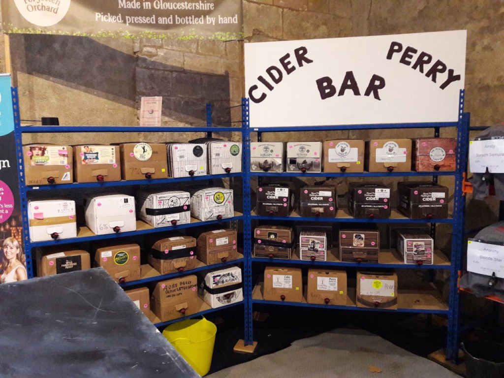 Cider & Perry bar