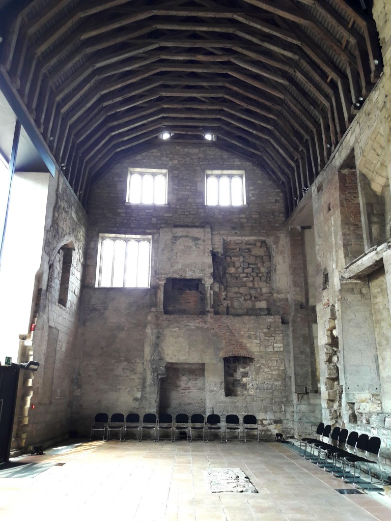 Blackfriars Priory prior to Beer Festival set up 2018